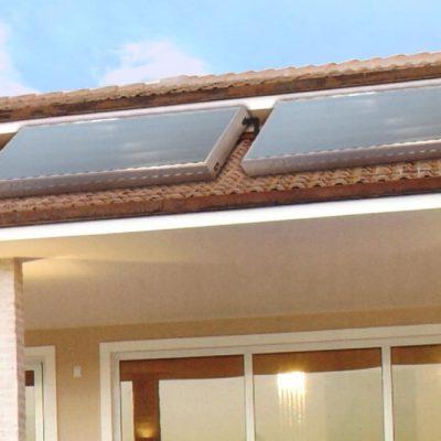 Captador solar y acumulador